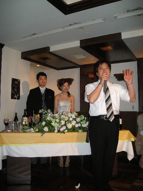 宮地さん 祝ご結婚10